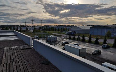 Kontor Tallinnas - vaade Tala 4 büroohotelli terrassilt